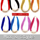 mix style jewelry necklaces