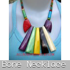 bali bone necklaces handmade supplier