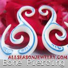 bone piercings bali