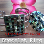 bracelets finger rings sets matching