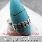 sing silver turquoise bali