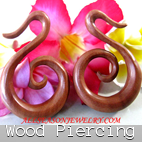 wooden piercings design bali