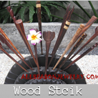 wooden hair stick accessories