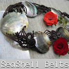 mop seashell belt bali
