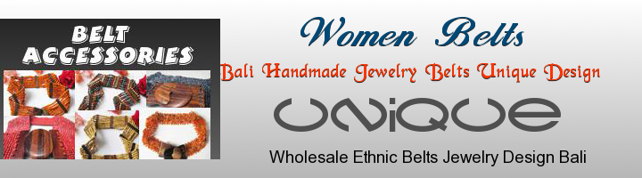 bali belt design supplier