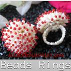 bali beads rings
