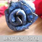 leather finger rings indonesian supplier