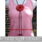 leather necklaces fashion