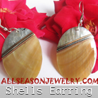 sea shells earrings