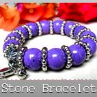 stones bracelets stretch