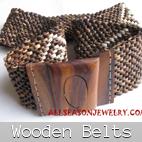 wooden belt bali
