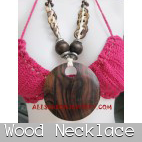wooden necklaces handmade bali